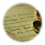Copy Marriage Certificate